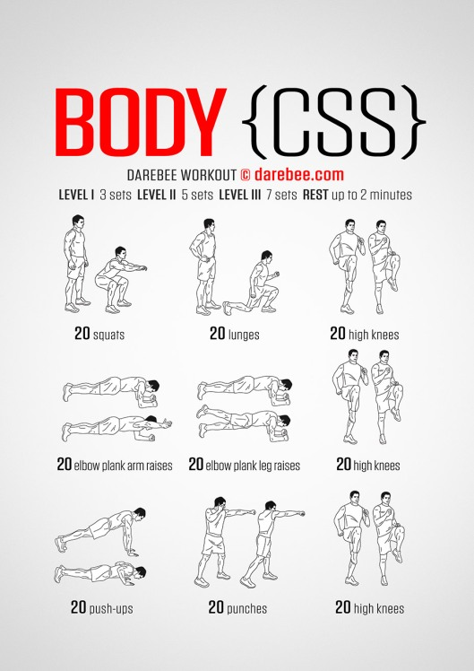 body-css-workout