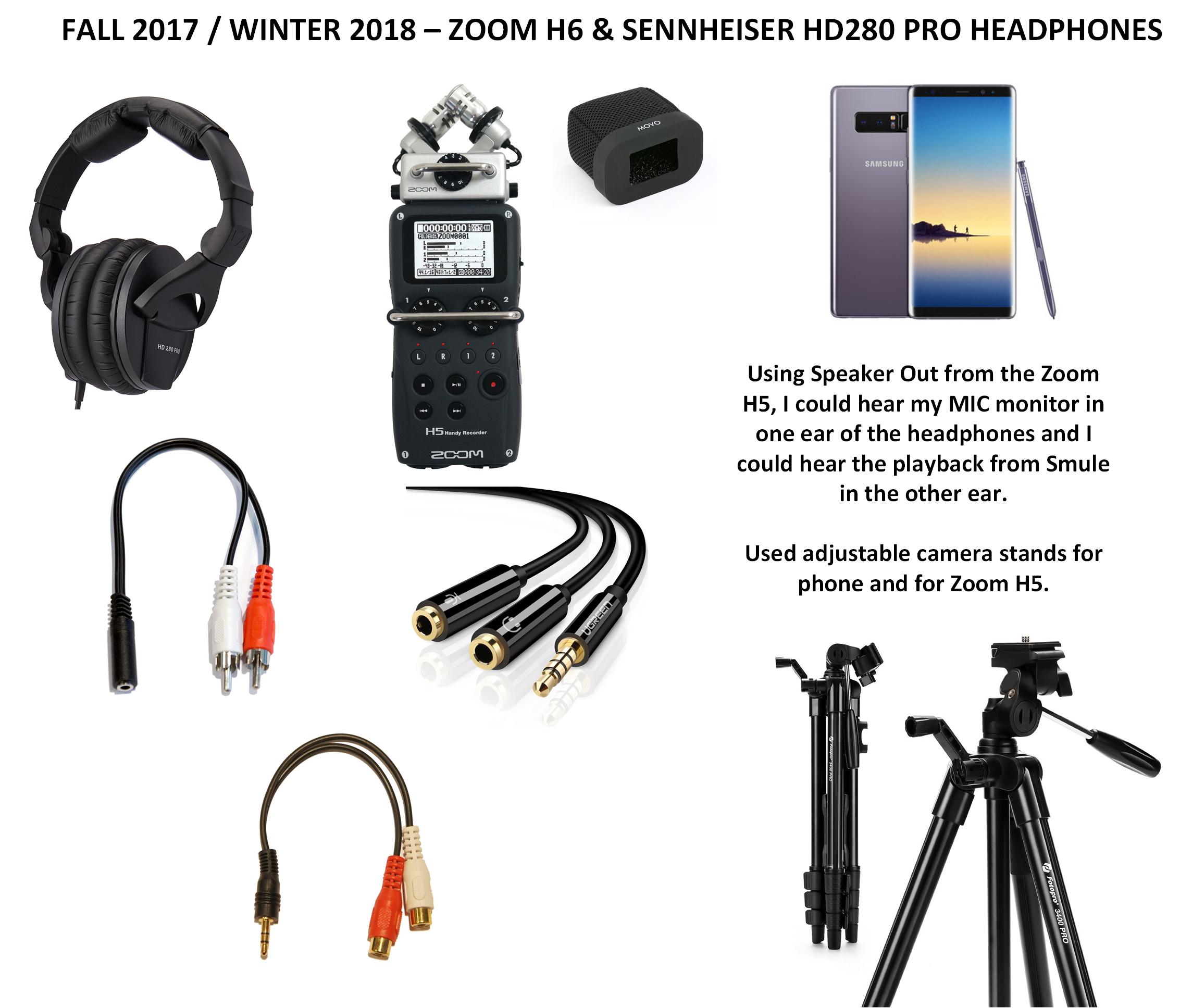 Smule Fall 2017 Setup